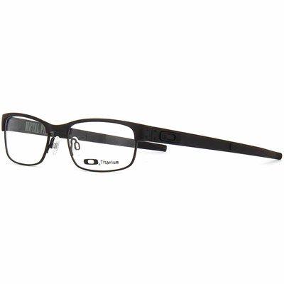 Oculos De Grau Oakley Metal Plate Preto Titanium Ox503822198