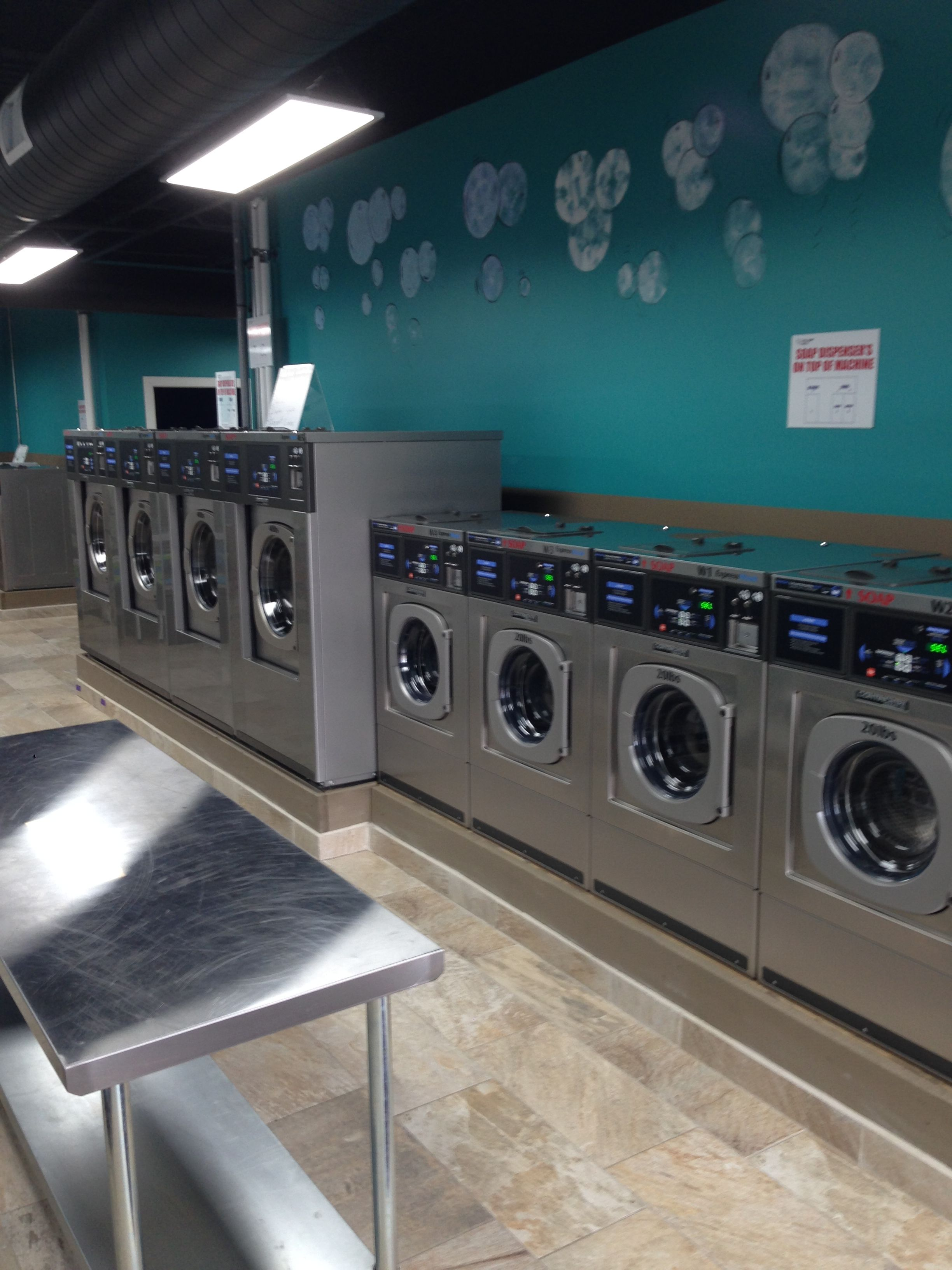 We specialize in Laundromat laundromats Coin operated washing