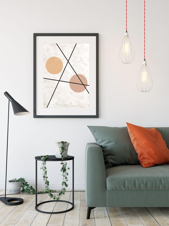 Abstract Printable Wall Art Scandinavian Home Wall Decor Office