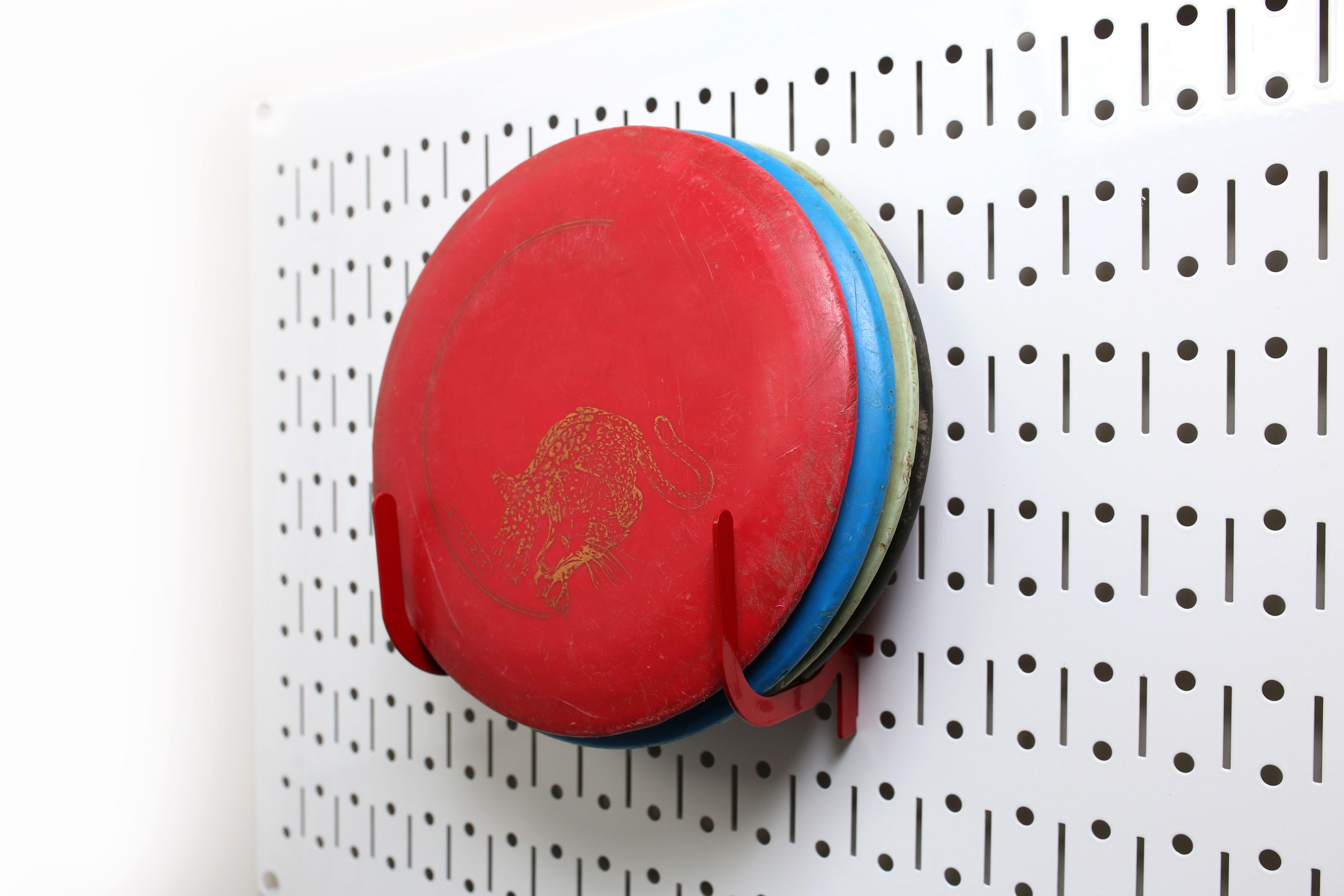 Disc Golf Disc Storage Rack Display Peg Board Board Storage Pegboard Accessories
