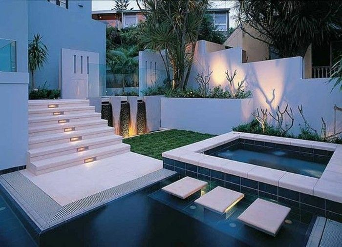 Wunderbar Moderne Gartengestaltung: 110 Inspirierende Ideen In Bildern   Firepit  Ideas, Fountain And Decking
