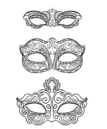 123rf Millions Of Creative Stock Photos Vectors Videos And Music Files For Your Inspiration And Masquerade Mask Diy Masquerade Mask Template Carnival Masks
