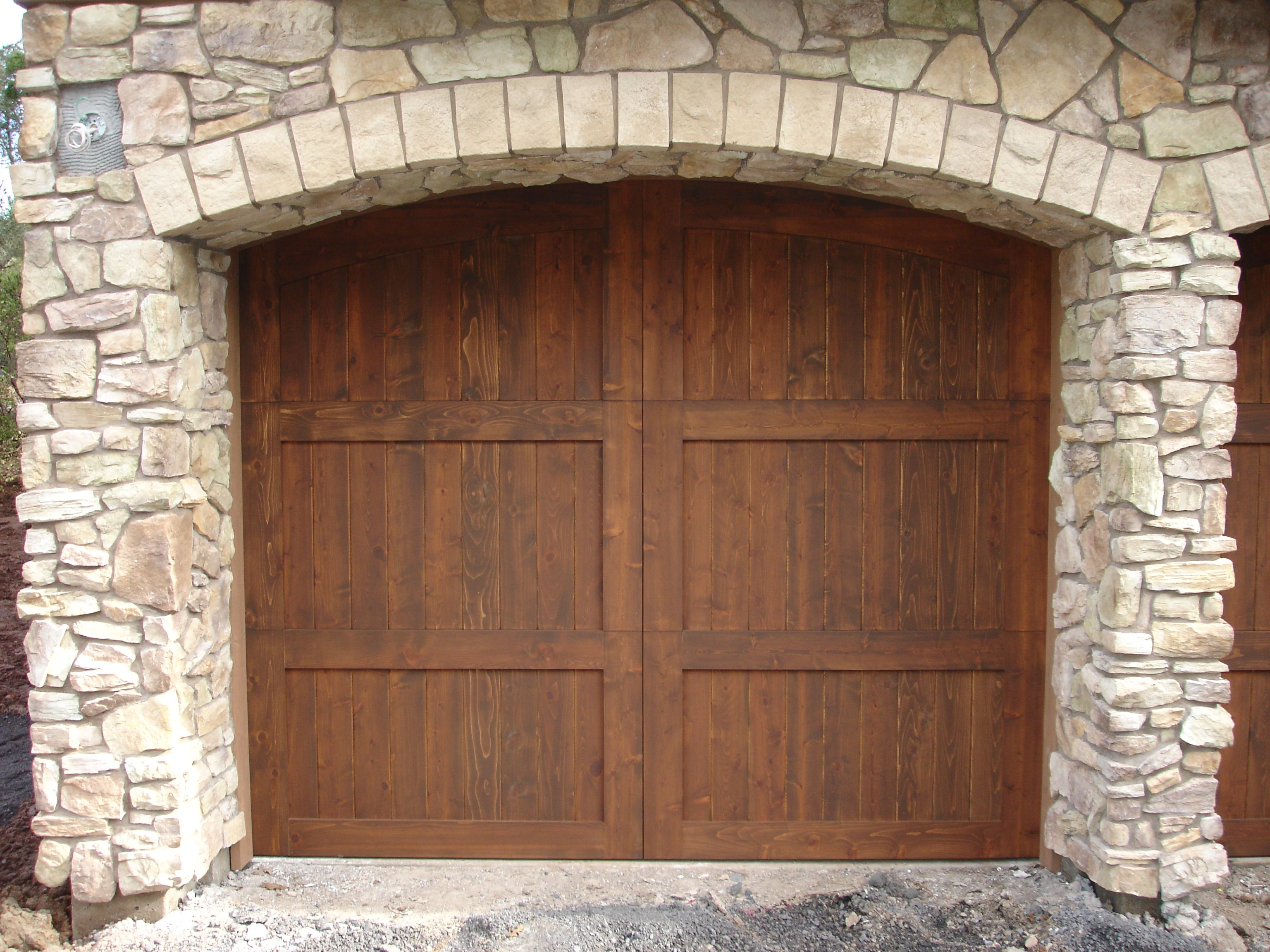 garage doors that look wood but are not wood pics - Google Search ...