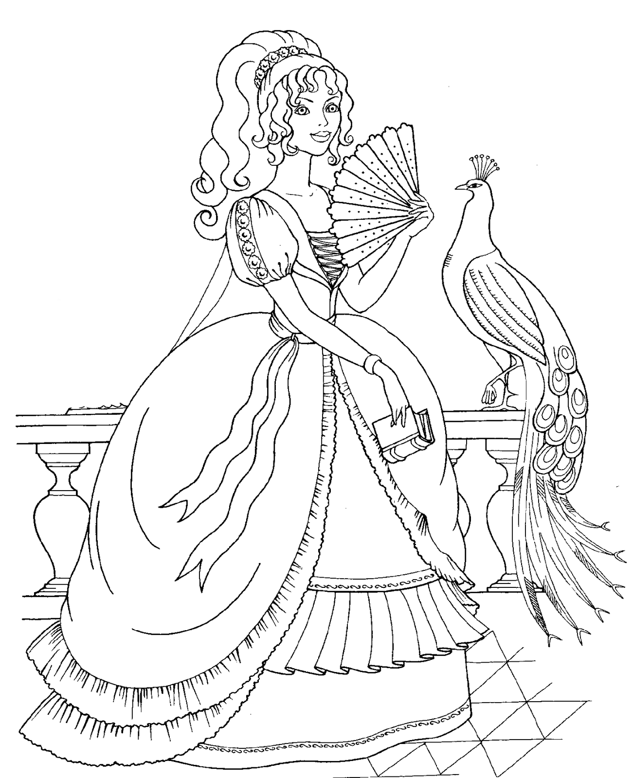 Disney Princess And Animals Coloring Pages To Kids Princess Coloring Pages Ariel Coloring Pages Mermaid Coloring Pages [ 1600 x 1299 Pixel ]
