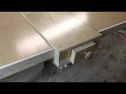 How to make a table saw fence and router table fence for homemade how to make a table saw fence and router table fence for homemade workbench free plan youtube greentooth Images