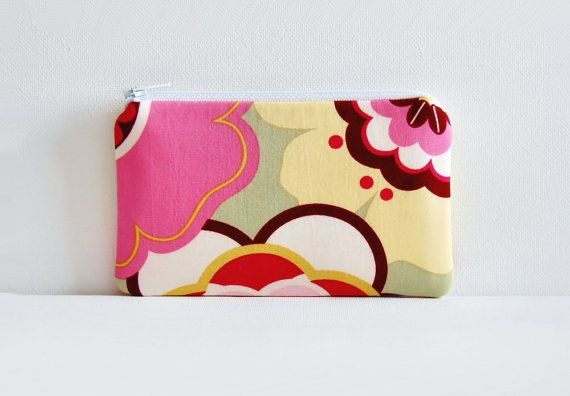 Coin Purse Small Zipper Pouch Alexander Henry by PinkLadyDesigns