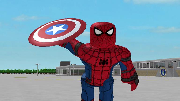 Roblox Spider Man Homecoming Shirt - Hey Everyone Roblox Marvel Photo Spiderman Superhero