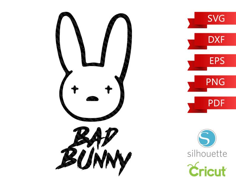 Bad Bunny Svg Vozeli Com