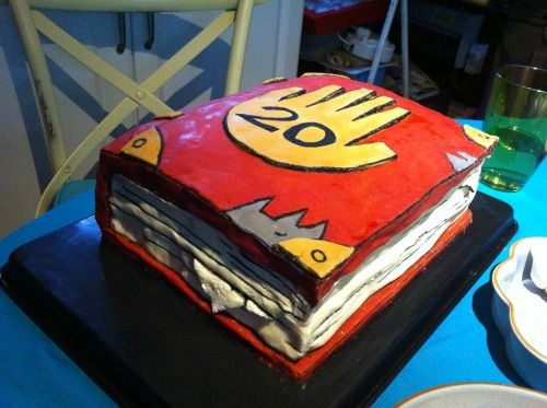 gravity falls birthday cake I want this Make me this Ill go