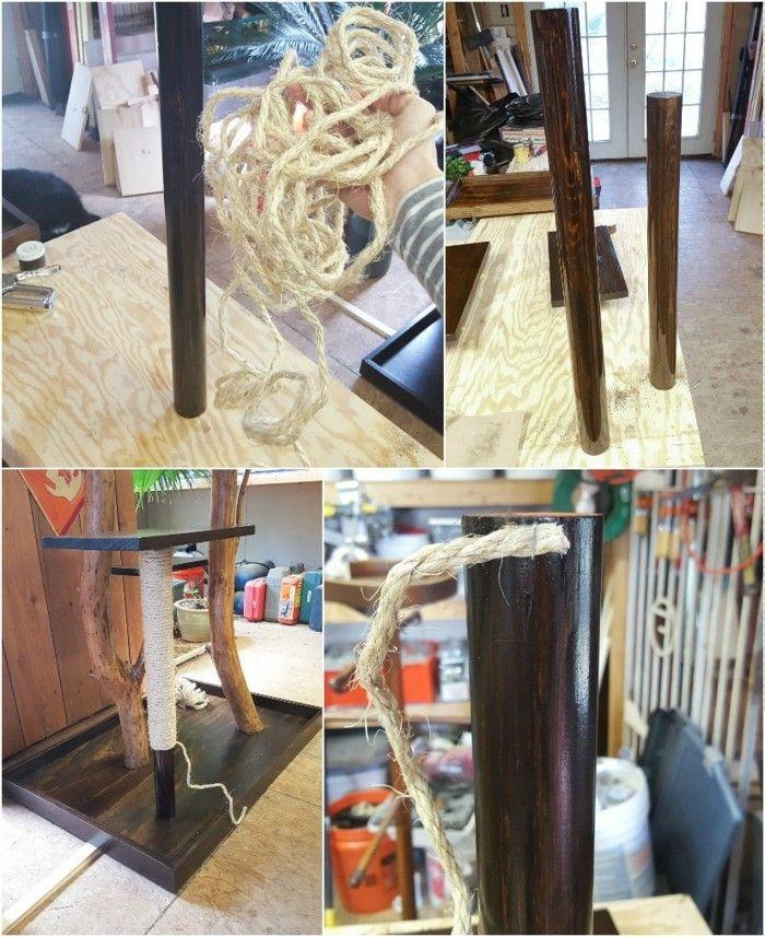 Kratzbaum Selber Bauen Jeder Kann Aus Naturmaterialien Einen