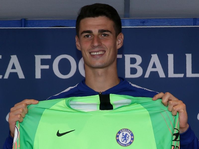 sports shoes ee642 fc7e9 Soccer Chelsea 2018-19 squad numbers: Kepa takes No.1 shirt ...