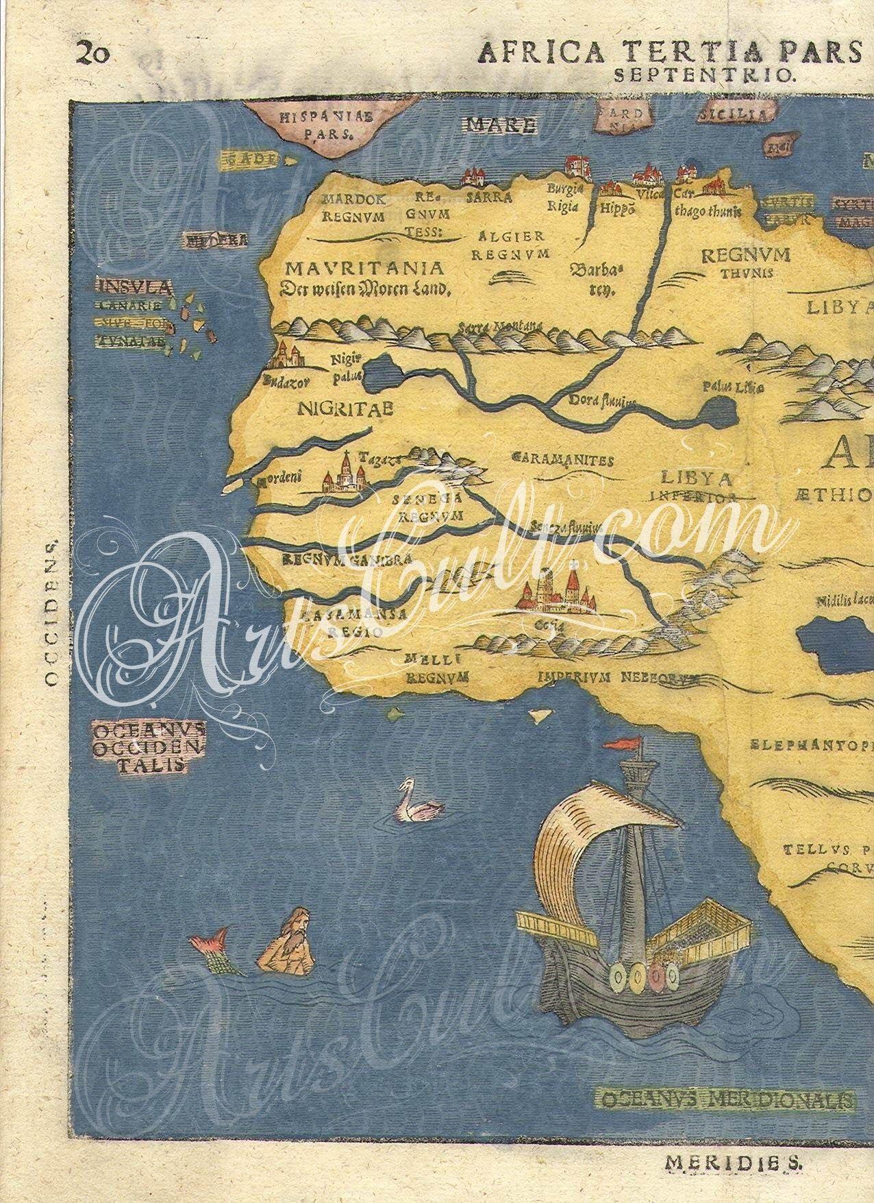 Buenting africa 3 artscult pinterest antique maps antique maps gumiabroncs Gallery