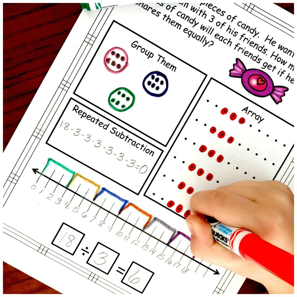 Division Problem Solving With Five Ways To Solve Free