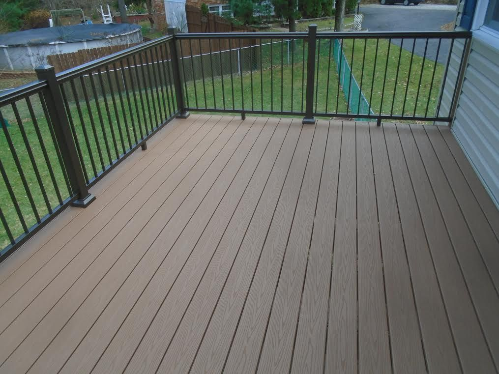 Fiberon Cabin Deck | Decks | Cabin decks, Deck, Home decor