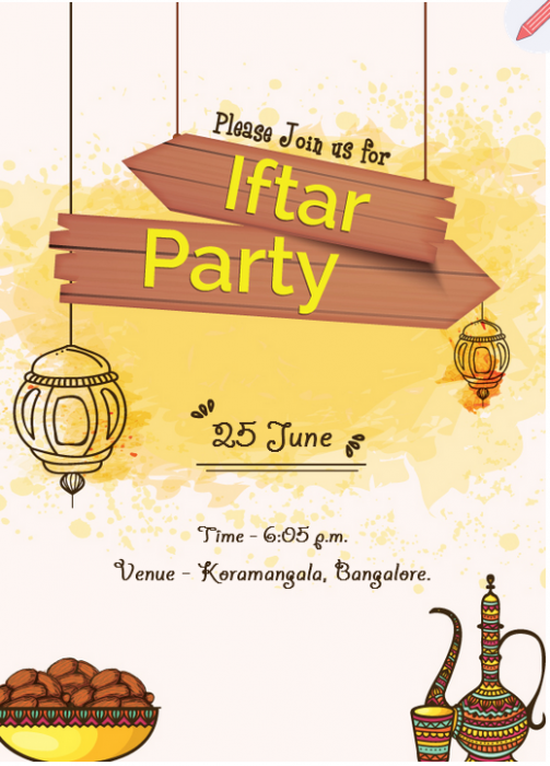 12 Ways Iftar Party Invitation Template Can Improve Your Business Iftar Party Invitation Te Iftar Party Party Invite Template Iftar