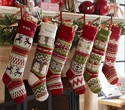 Kids Christmas Stockings For Pottery Barn