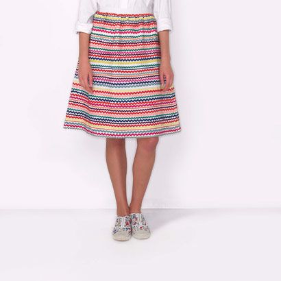 Ric Rac Cotton Skirt
