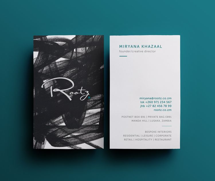Rootz designlifestyle business cards logosbranding by the rootz designlifestyle business cards reheart Choice Image