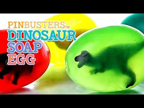 DIY Dino Soap Egg For Kids // DOES THIS COOL CRAFT REALLY WORK?
