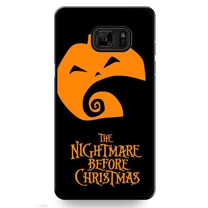 The Nightmare Before Christmas Pumpkin TATUM-10964 Samsung Phonecase