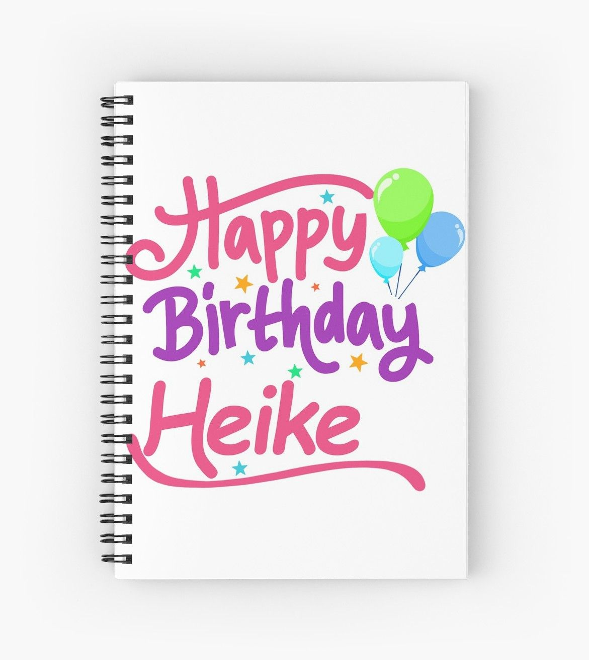 This Design The Inscription Happy Birthday For The Name Heike Ideal For Women And Girls Or Ch Letters For Kids Birthday Surprise For Girlfriend Happy Birthday