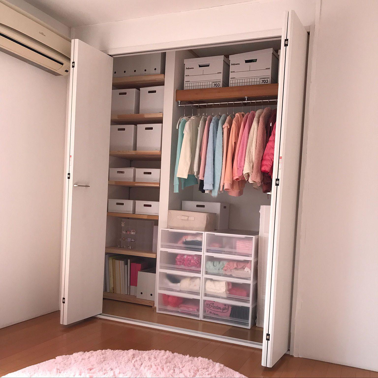 9a5b0934da3 Bedroom/無印良品/クローゼット/収納/リフォーム/シンプルライフ.
