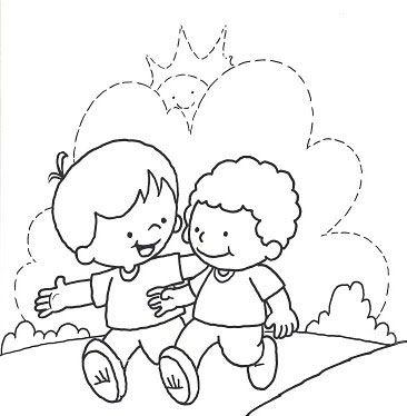 Dibujos Dia Del Niño Para Pintar Parte 2 Pintar Con Niños