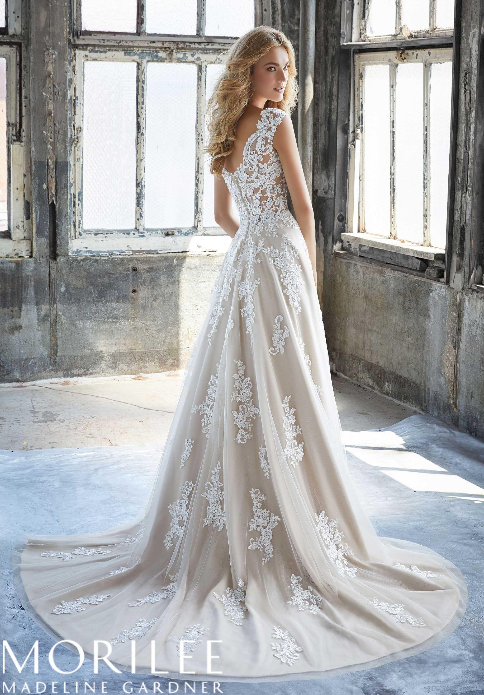 Mori lee madeline gardner wedding dress  Morilee  Madeline Gardner Kennedy Style   Slim ALine Wedding