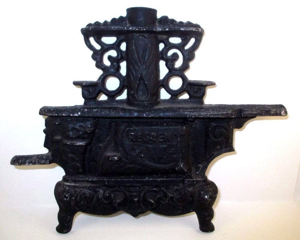 Antique Crescent Stove Store Display Cast Metal Piece Incomplete ...