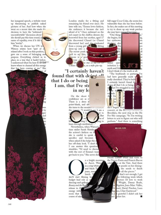 """""""Untitled #74"""" by nonanabaa ❤ liked on Polyvore featuring interior, interiors, interior design, home, home decor, interior decorating, Ted Baker, Lipstick Queen, Surratt and Incase"""