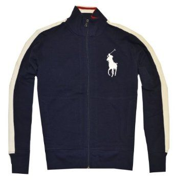 Polo Ralph Lauren Men Full Zip Big Pony Logo Track Jacket