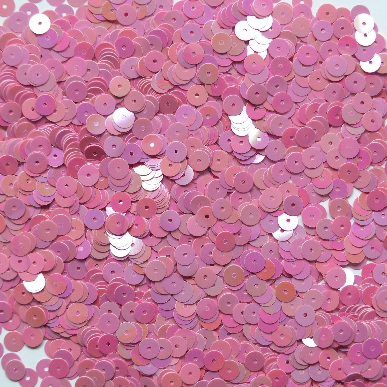 Sequins Purple 5mm Round Cup ~1,000 or ~12,500 pieces Loose High Quality