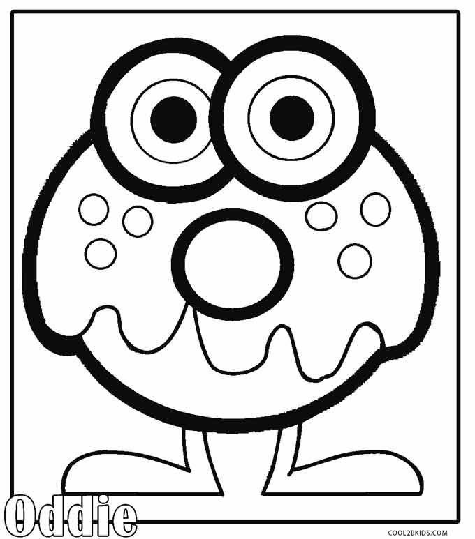 Moshi Monsters Coloring Pages Monster Coloring Pages Coloring