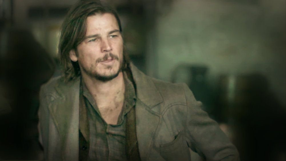 Josh Hartnett as Ethan Chandler in Penny Dreadful.