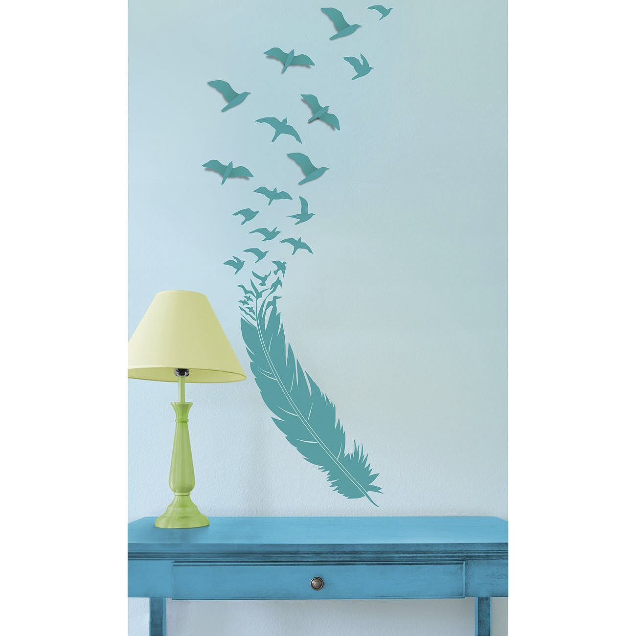 Xhilaration Wall Decor : Xhilaration? birds in flight wall decal target dorm