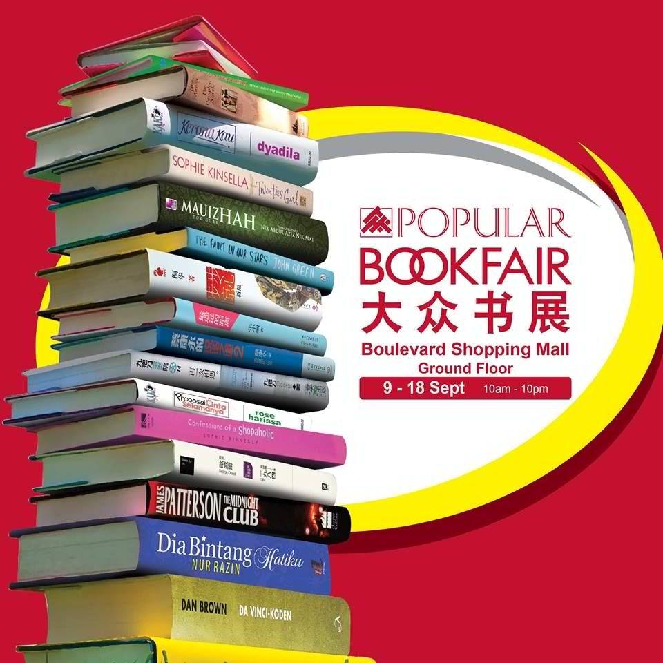 9-18 Sep 2016: Popular Book Fair