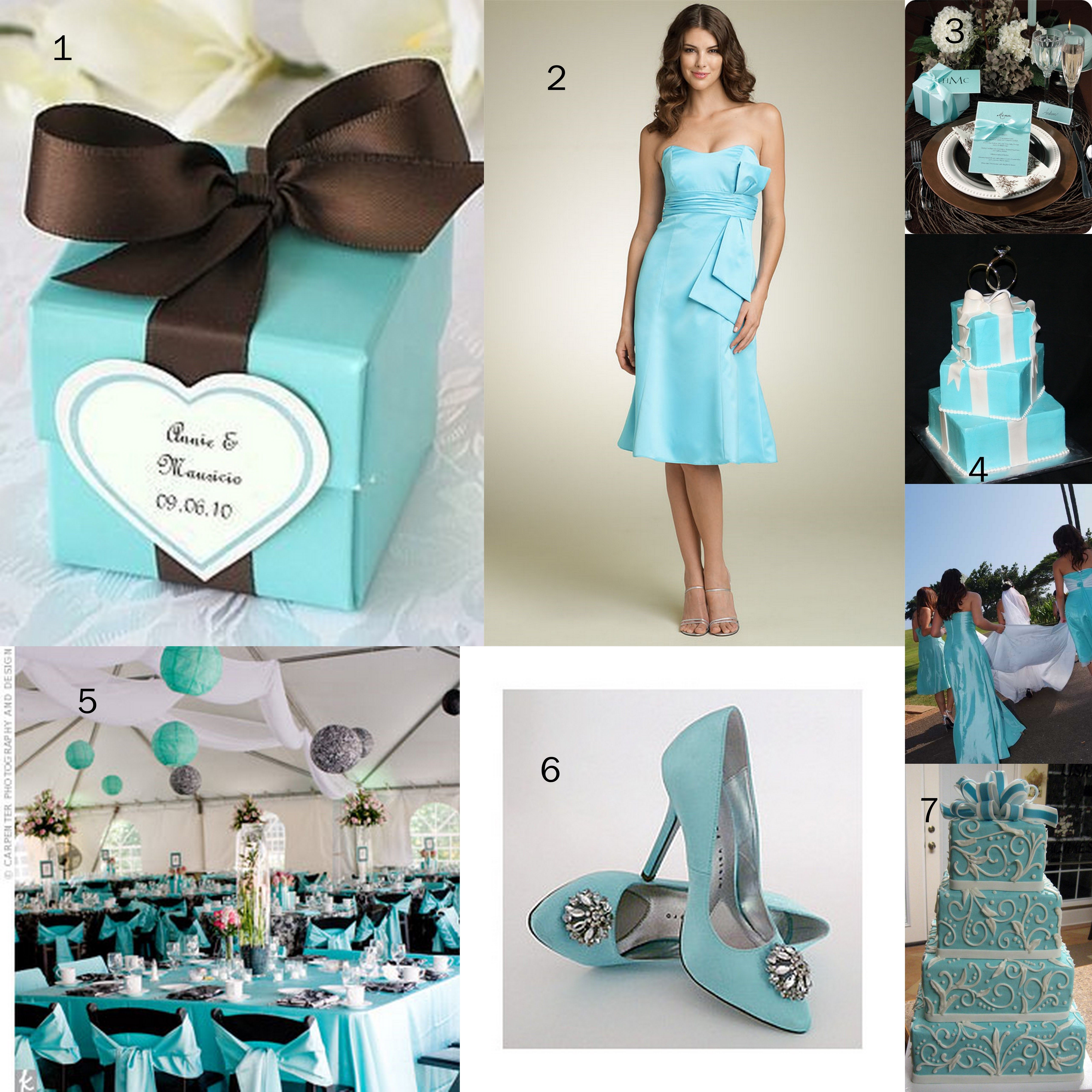 Bridesmaid Dresses By Color Blue | Tiffany Blue Wedding ...