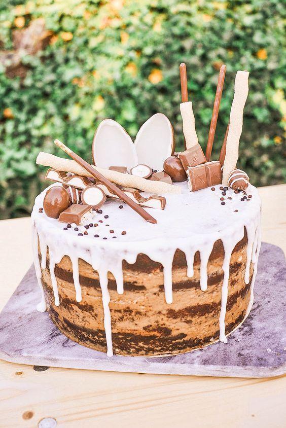 Kinderschokolade Candy Torte Kinderschokoladen Kuchen