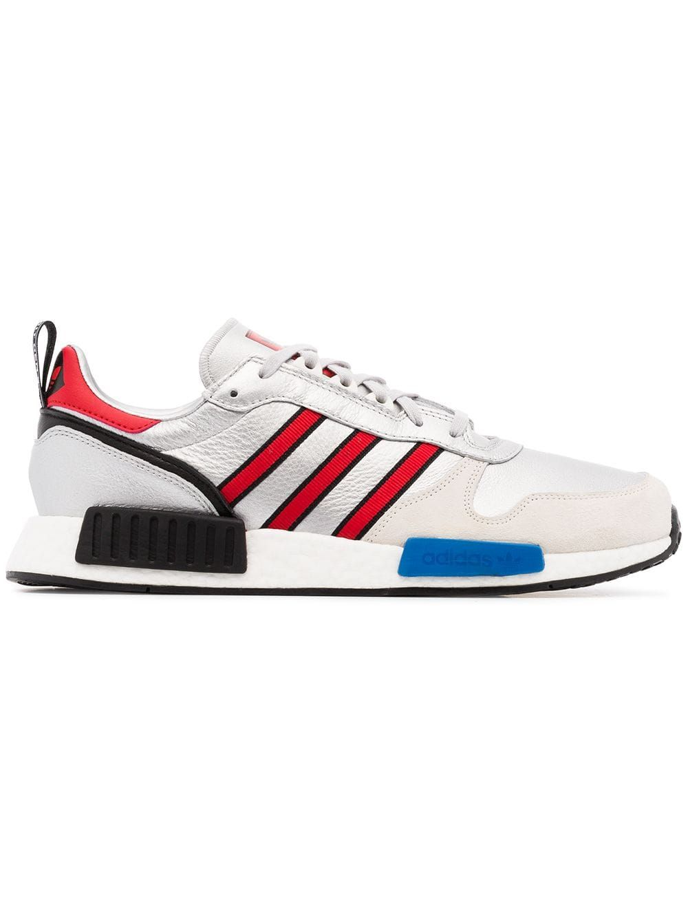 9ff3eae3a3 Adidas Never Made multicoloured Rising Star R1 leather sneakers - Metallic