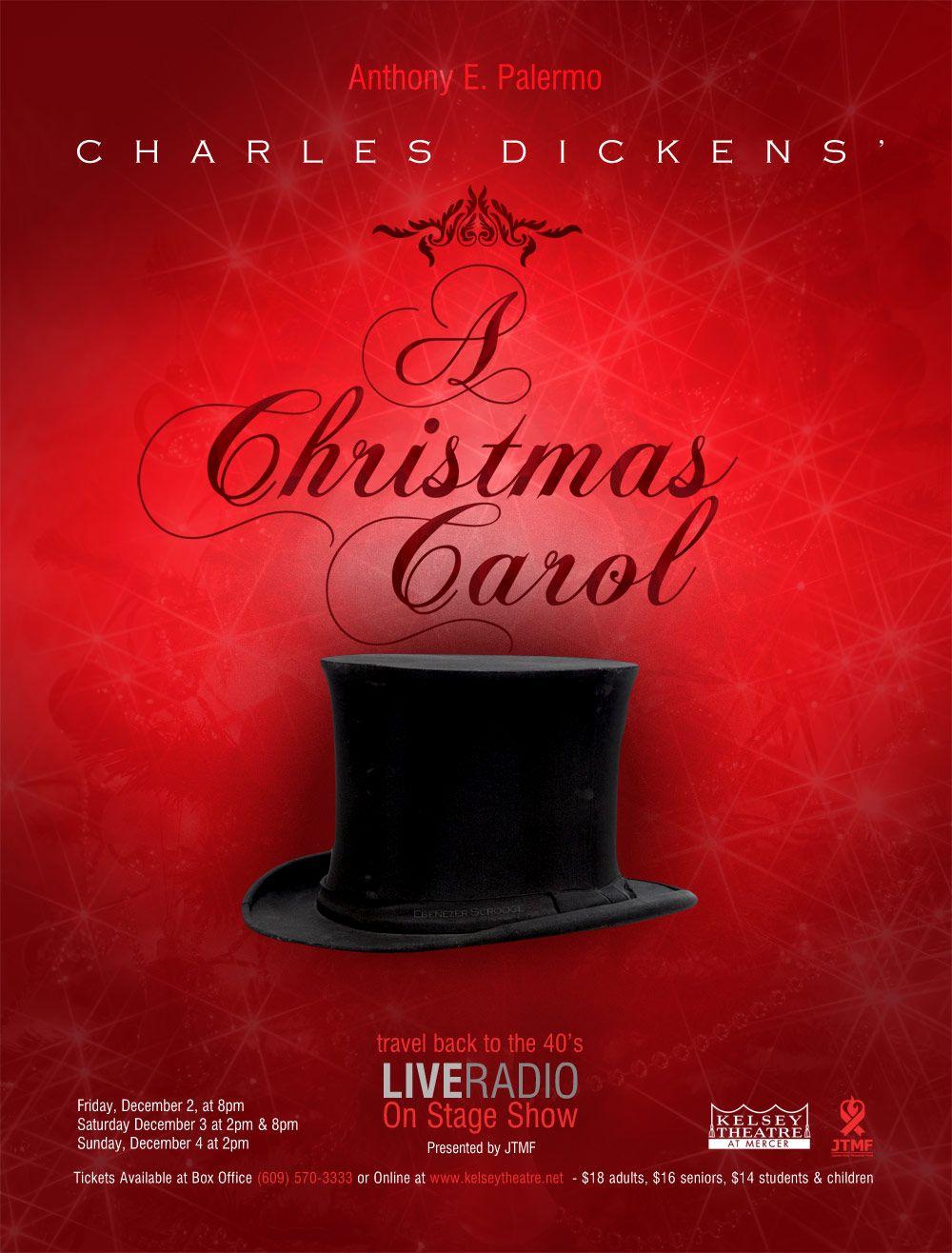 A Christmas Carol Poster.Minimalist A Christmas Carol Poster Design Dickens