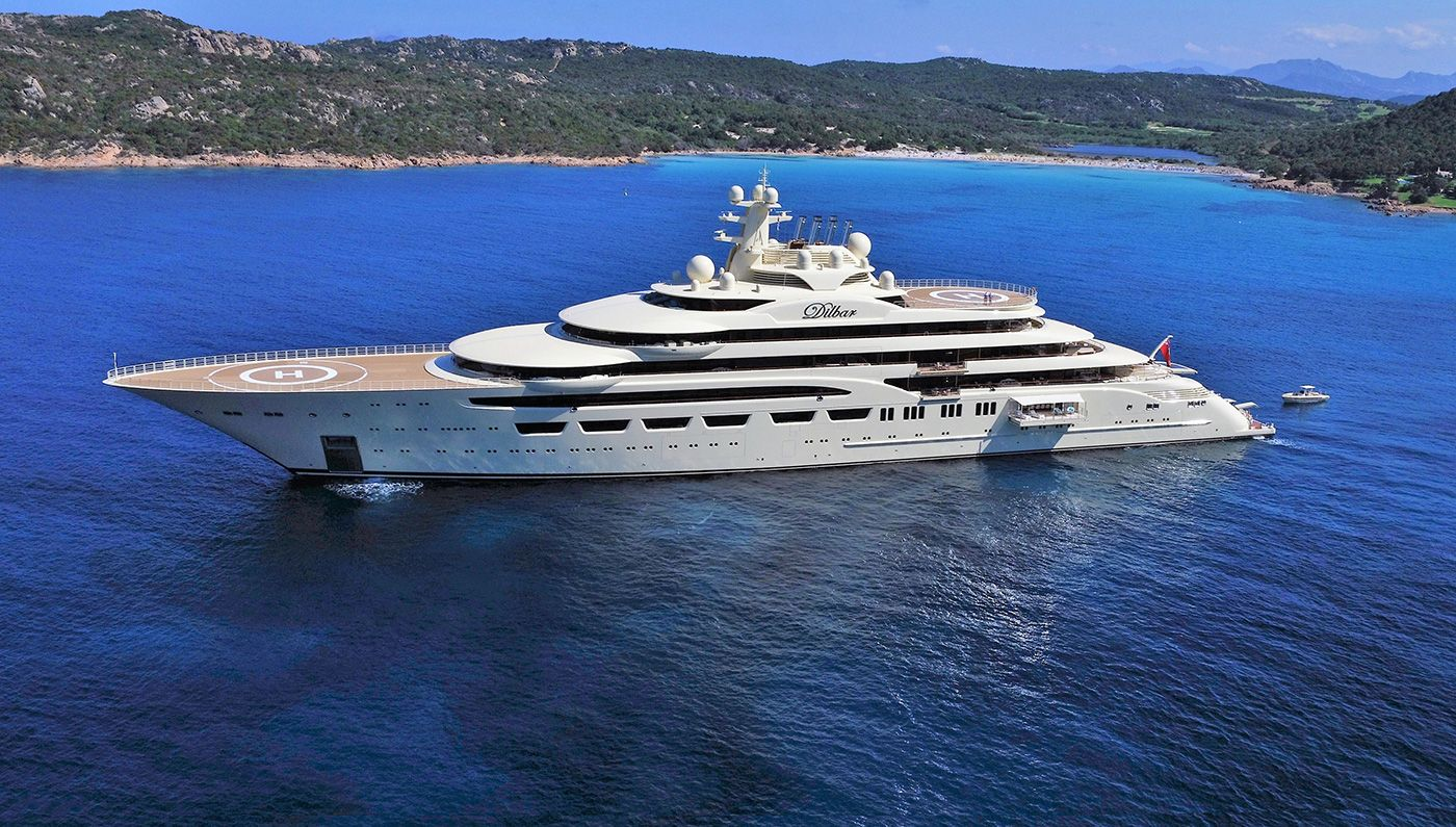 The Nearly 512 Foot Superyacht Houses The Largest Indoor Pool Ever