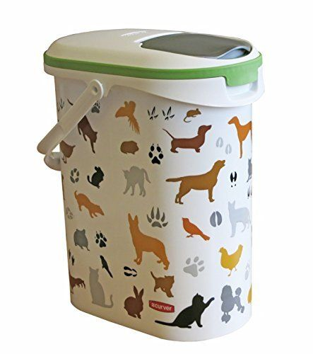 From 11 58 Curver Dry Pet Food Container Multi Pet 4kg Pet Food