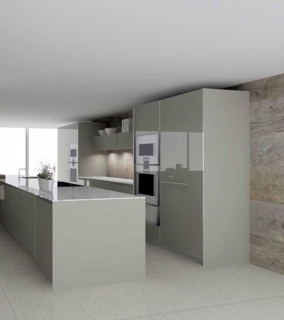 B3 Bulthaup Kitchen Cgi On One Of Our Latest Llama Group Janey Butler Interiors Luxury Home Projects Diy Kitchen Decor Kitchen Decor Home Projects