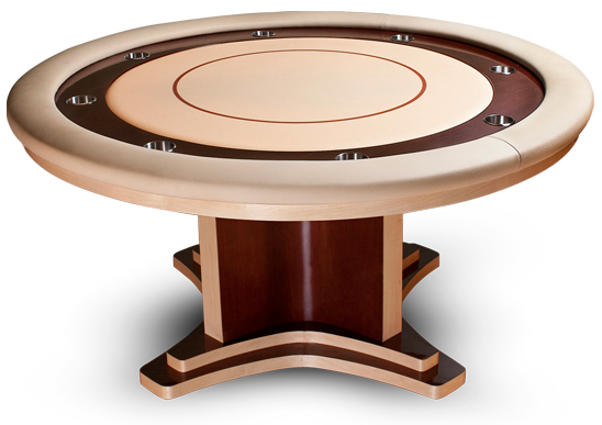 Pharaoh Cleopatra Round Poker Table