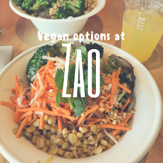 Zao Is A Healthy Modern Asian Restaurant In Utah They Have A Lot Of Vegan Food Options Which I Love Their Menu H Vegan Restaurants Vegan Options Asian Cafe