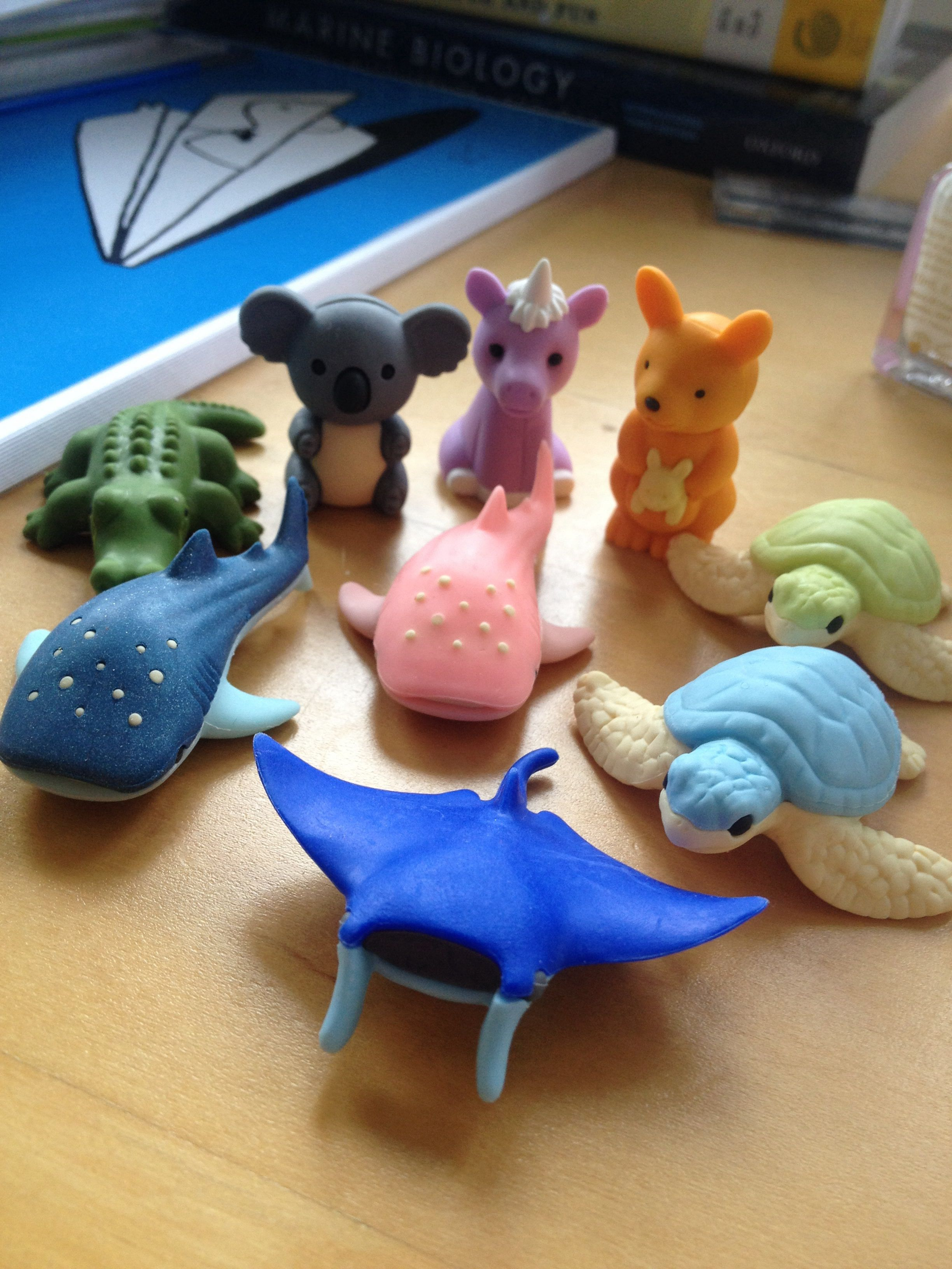 The cutest rubbers ever.