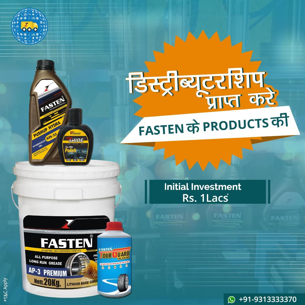 Get The Lubricant Oil Manufacturers In Delhi Inzin Provides You