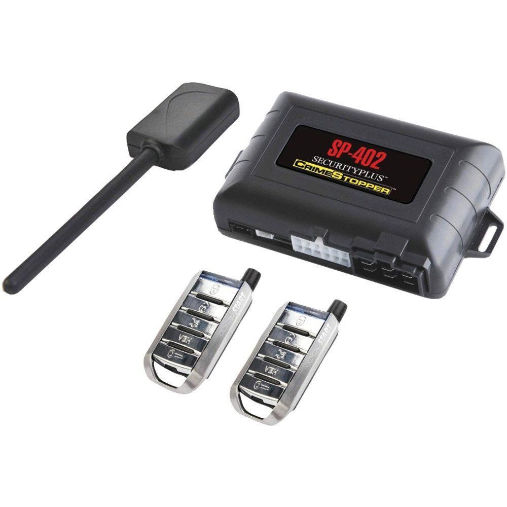 Crimestopper 1way Combo Alarm Keyless Entry & Remote