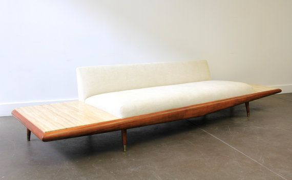 Mid Century Modern Adrian Pearsall Sofa 889 S Sofa By Citymodern5