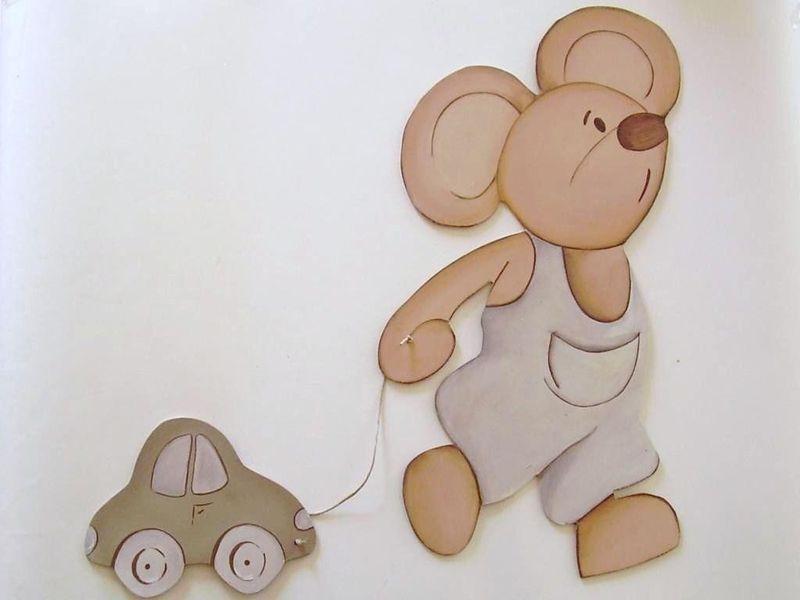 Siluetas de madera grandes 50cm siluetas de madera y murales kids deco letras de madera - Murales de madera ...